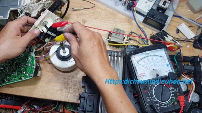 kiểm tra sửa lỗi H19 điều hòa Panasonic
